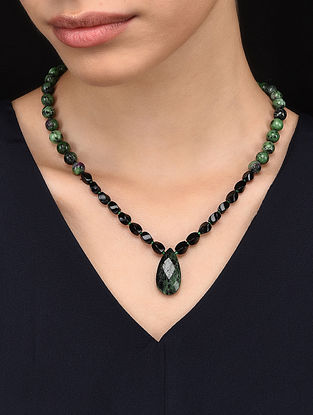 Zoisite Beaded Necklace