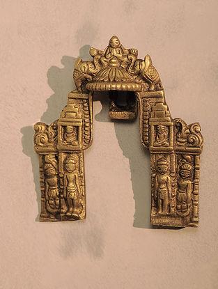 Brass Prabhavali (4.5in x 4.1in)
