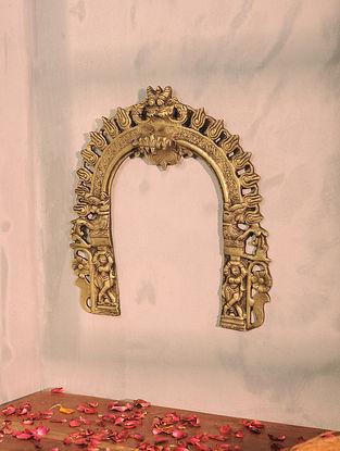 Brass Prabhavali (10.6in x 10.2in)