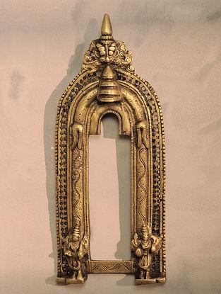 Brass Prabhavali (13in x 5.3in)