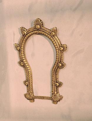 Brass Prabhavali (10.5in x 7.2in)