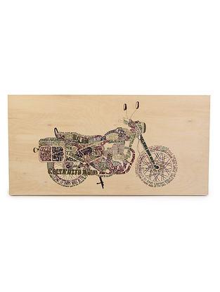 Bullet  Wood Art Painting 30in x 1in x 15in