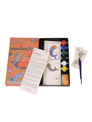 DIY Indian Art Kit - Gond Painting of Madhya Pradesh