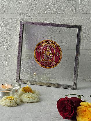 Parshuram Avatar Framed Ganjifa Card 6.5in x 6.5in