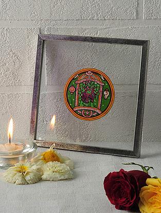 Varaha Avatar Framed Ganjifa Card 6.5in x 6.5in