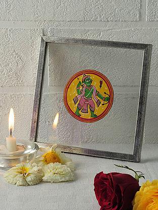 Rama Avatar Framed Ganjifa Card 6.5in x 6.5in