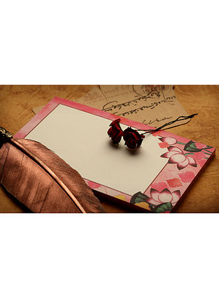 Pink-Red Notepad