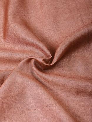 Old Rose Handloom Silk Cotton Fabric