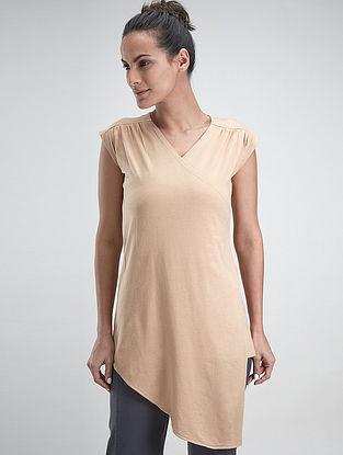 Sand Cotton-Modal Mayur Top