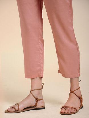 Pink Viscose Pants