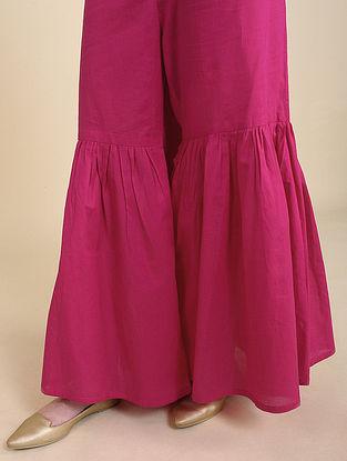 Pink Cotton Sharara