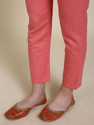 Coral Cotton Pants