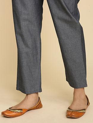 Grey Cotton Pants