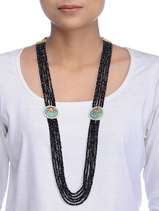 Black-Turquoise Onyx Necklace