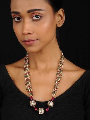 Multicolored Kundan Inspired Necklace