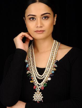 Multicolored Kundan Inspired Stones Necklace