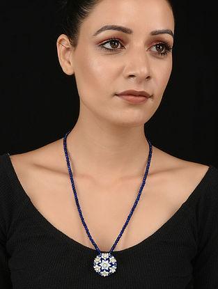 Blue Meenakari Necklace
