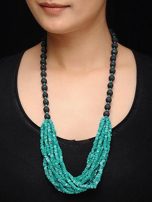 Feroza Black Turquoise Necklace
