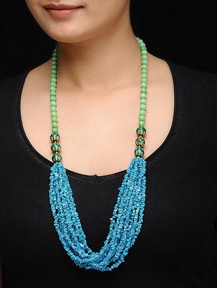 Feroza Mint Turquoise Beaded Necklace