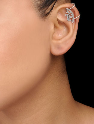 Tribal Silver Ear Cuff