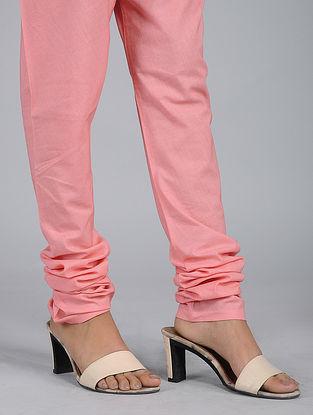 Pink Elasticated Waist Cotton Churidar