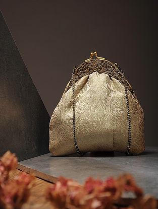 Gold Handcrafted Brocade Silk Batuwa
