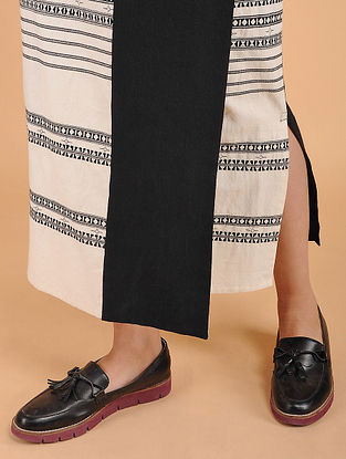 Ivory Handwoven Cotton Wrap Around Skirt
