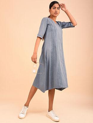 Lava Grey Chikankari Dress