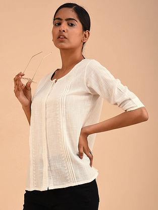 Ivory Chikankari Shirt