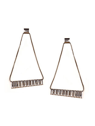 Silver Plated Brass Earrings