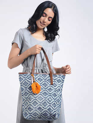 Multicolored Cotton Kilim Tote