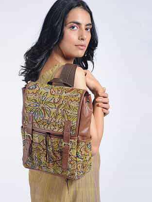Multicolored Cotton Kilim Backpack