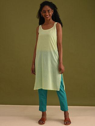 Lime Cotton Slip