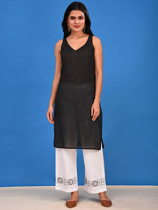 Black Cotton Slip