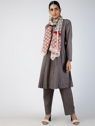 Kashish Front-open Cotton Slub Kurta with Pockets