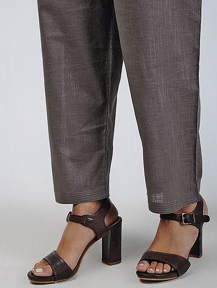 Kashish Tie-up Waist Cotton Slub Pants