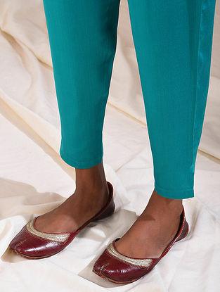 Teal Elasticated Waist Modal Pants