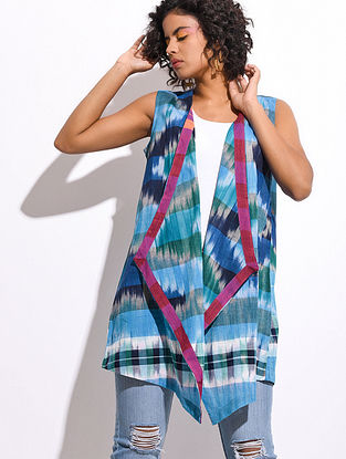 Multicolored Handloom Cotton Cape