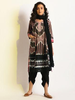 PRISMATIC - Multicolor Handloom Cotton Kurta