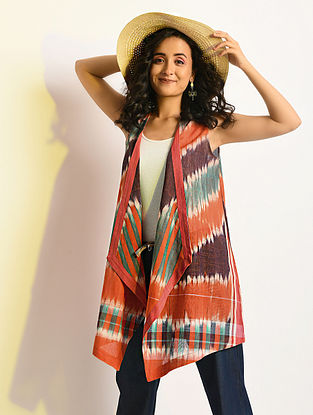 SPECTER - Multicolor Handloom Cotton Cape