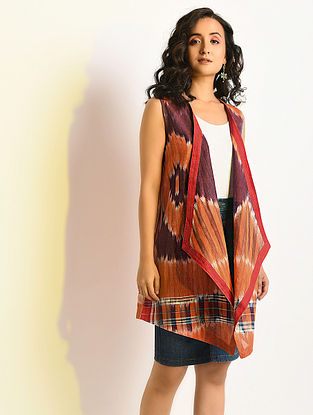 MIRAGE - Multicolor Handloom Cotton Cape