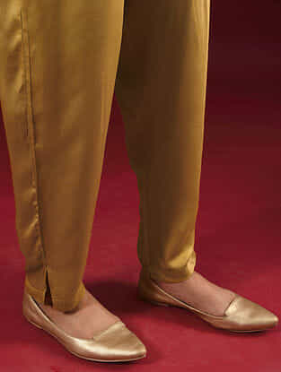 BRINDA - Mustard Elasticated Waist Modal Pants