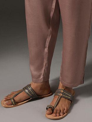 NIRANJANA - Pink Elasticated Waist Modal Pants