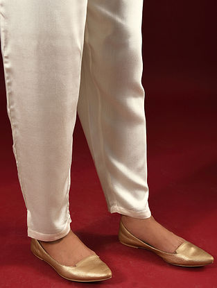 NITYA - Ivory Elasticated Waist Modal Pants