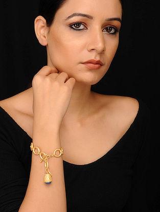 Blue Gold Plated Bracelet