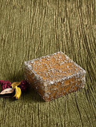 Silver Resin and MDF Box with Foil Work (L - 3in, W - 3in, H - 1.5in)