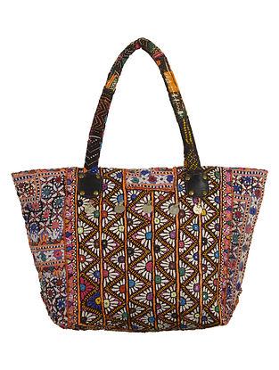 Multi-Color Banjara Embroidered Tote Bag