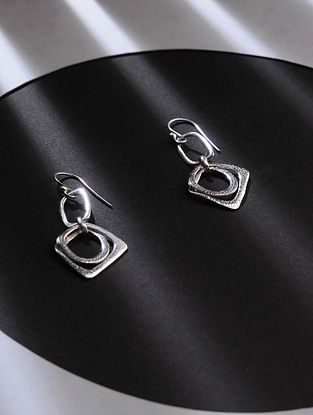 Classic Silver Handcrafted Earrings