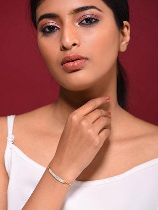 Gold Tone Silver Bracelet