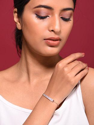 Rose Gold Tone Silver Bracelet